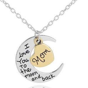 Jewelry - 4/$25 I Love You to the moon and Back Mom Necklace